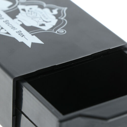 Cool Magic Black Box Vanished Box Puzzle Box Magic Tricks Surprise Box Kids T Y4