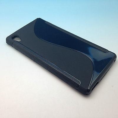 """Sony Xperia M4 Aqua S Wave Soft Transparent Clear TPU Silicone Case Canada 5.0"""""""