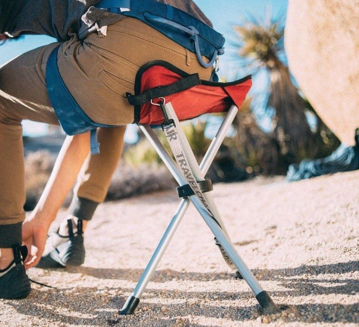 TravelChair 1389VR Camping Slacker Stool Red for sale online