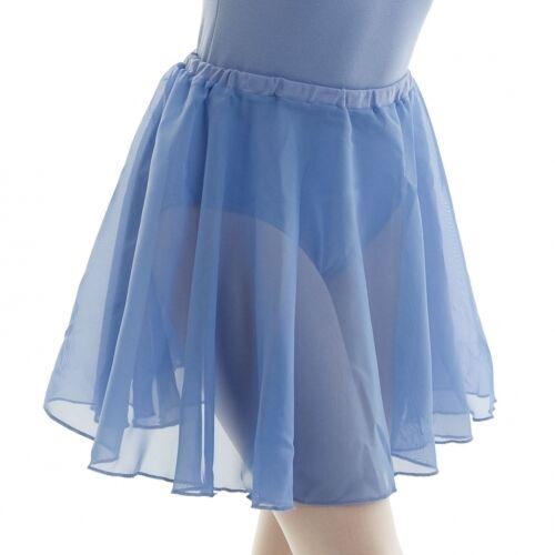 NEW CHILDRENS/GIRLS ISTD DANCE SKIRT ALL SIZES BLUE/PLUM