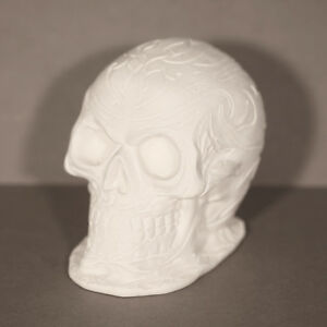 Skull Large latex Mould/Mold plaster/candle/soap 1181