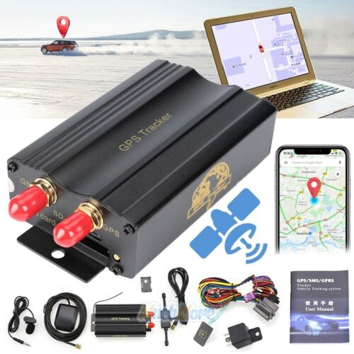 Realtime GSM//GPS//GPRS Car//Vehicle//Motorcycle Tracker Locator TK103A Alarm System