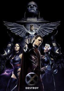 X-MEN-APOCALPYSE-Movie-PHOTO-Print-POSTER-Textless-Film-Art-Dark-Phoenix-004