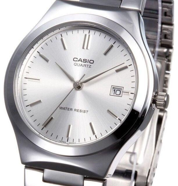 Casio Men's Analog Stainless Steel Band Date Display Watch MTP-1170A-7A New
