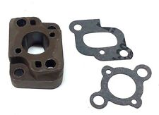 23CC GAS SCOOTER INTAKE MANIFOLD + GASKETS GOPED G23 G260 GP290 CARB INSULATOR