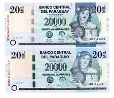 Paraguay ... P-230a,b ... 20000 Guaranies ... 2007 ... *UNC*
