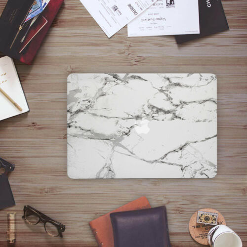 """Soft Touch Marble Matte Rubber Coated Hard Case for MacBook Pro 13/"""" A1706//A1708"""