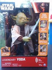 Star Wars Episode VII 7 Force Awakens Legendary Jedi Master Yoda Figure