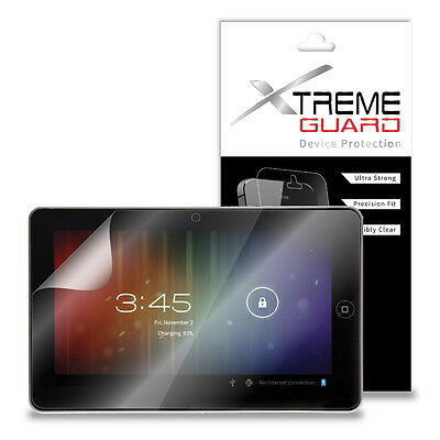 "XtremeGuard LCD Screen Protector Shield For iRulu AX106 10.1"" Tablet (Clear)"