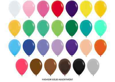 """Pack of 25 11/"""" Helium Satin Pearl Balloons 17 colours Wedding Party Air Fill"""