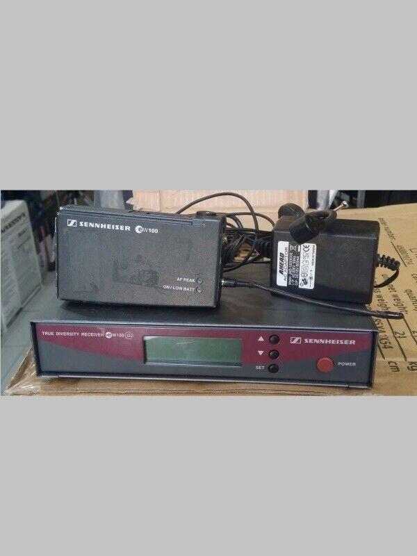 Radiomicrofono archetto EW100G2 ricevitore e EW100G1 Trasmettitore Sehnneiser EW