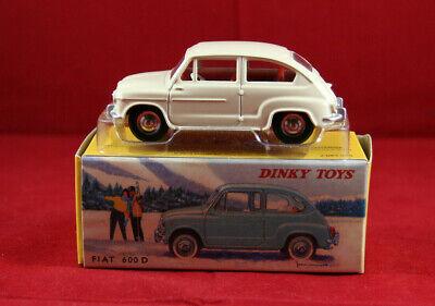 Certif 1 Stecker Dinky Toys Atlas Repro Ref Fiat 200 Weiß 520.F