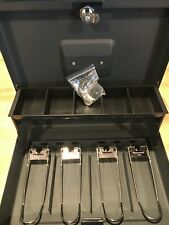 Steelmaster Tiered Tray Cash Box Secure Durable With Keys 2216194g2