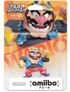 NEW-Nintendo-3DS-Wii-U-Amiibo-WARIO-Super-Smash-Bros-JAPAN-F-S