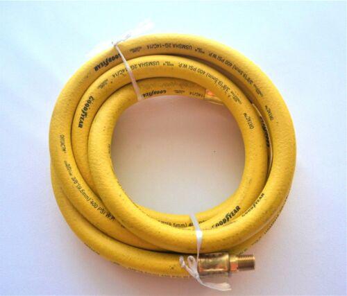 "9.5mm USMSHA 2G-14C//14 Oil Flame Resistant Goodyear 10FT 400PSI Whip Hose 3//8/"""