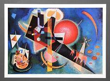 Wassily Kandinsky - Im Blau (1925) Poster Kunstdruck Art Print 46x33cm Blue Bleu