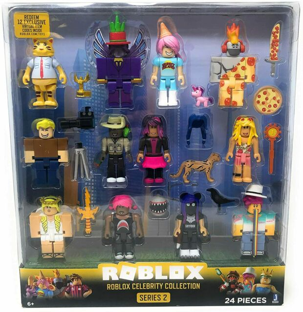 Universal Pack 1 Roblox Roblox Series 2 Roblox Celebrity Collection 24 Piece Set
