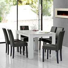 En Casa Esstisch Antik Eiche Mit 6 Stuhlen Braun 140x90 Tisch Stuhle