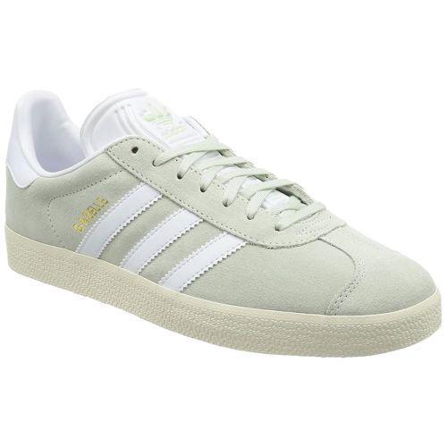 Adidas Gazelle de zapatos hombres ropa de verde de verde / blanco corriendo 9 eBay