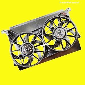 Ford-BA-BF-Falcon-Fairmont-Fairlane-Radiator-Twin-Cooling-Fan-02-03-04-05-06-NEW