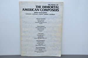 The-Music-of-The-Immortal-American-Composers-Piano-Vocal-Guitar-Paperback-1951