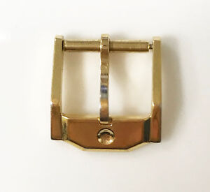 MOVADO-STAINLESS-STEEL-BUCKLE-GOLD-TONE-12MM-ORIGINAL-GENUINE