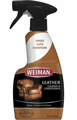 Weiman Leather Cleaner Conditioner Chairs Sofas Couch Sofa Seat Home  Protect New 41598000751   eBay
