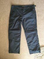 Craghoppers Grey Zip Off Walking Trousers 14R