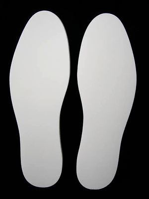 MEMORY FOAM THICK INSOLES SPORTS WORK BOOTS SHOES ALL SIZE 3 to 12 WHITE