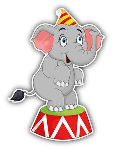 Republican Bumper Stickers Circus Elephant Cartoo...