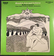 Handel-Acis and Galatea, Deller Consort, Stour Music Festival Orchestra, 2 LP