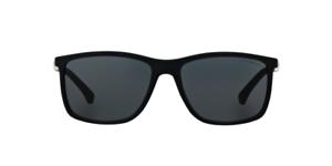 NWT Emporio Armani Sunglasses EA 4058 5474 87 Rubber Blue   Gray ... b4ac9c3d1a