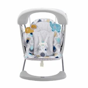 Details about NEW Fisher Price Deluxe Take Along Swing & Seat