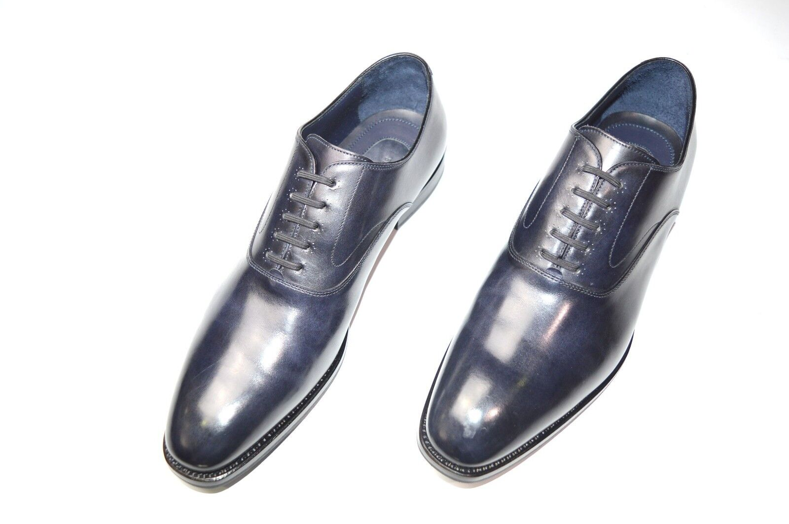 Nuevo De Lujo Cuero STEFANO RICCI Zapatos Talla nos 9.5 (COD N80)