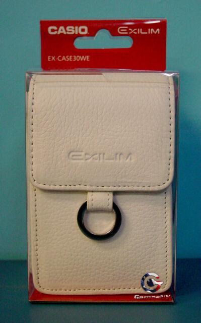 Casio Exilim EX-Case30WE Leather Genuine Universal Camera Case