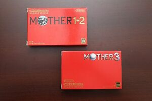 Details about Nintendo Game Boy Advance Mother Earthbound 1+2 3 boxed Japan  GBA game US Seller