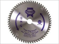 Faithfull - Circular Saw Blade 250 x 30mm x 60T TCG Fine Finish