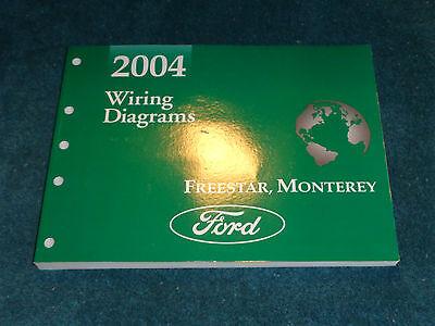 2004 ford freestar / monterey wiring diagram shop manual / unused original  book  ebay