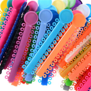 9ebf1c0dc 1 Pack Multi Color Dental Orthodontic Elastic Braces Rubber Ligature Ties  Rings、