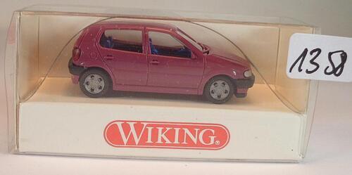 Wiking 1//87 nº 036 01 17 VW Volkswagen Polo Sedán violeta OVP #1358