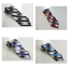 Van-Heusen-Men-039-s-Tie-Striped-Silk-Purple-Red-Blue-or-Black-New-40 thumbnail 1
