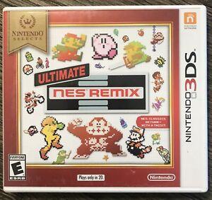 Ultimate NES Remix Nintendo Selects (Nintendo 3DS, 2018) Complete