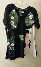WOMENS WICKED THE MUSICAL T SHIRT 3X BLACK GALINDA WICKED WITCHES NEVER WORN!!!