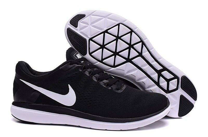 Nike Flex Rn homme fonctionnement Baskets Noir 830369 001-