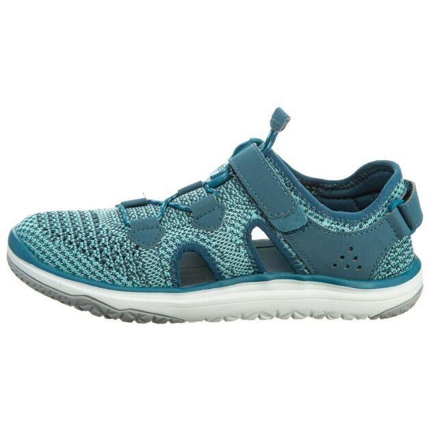 Teva Women/'s Shoes Terra Float Travel Knit Legion Blue Teal Sandals 1091812