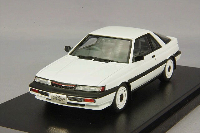 1 43 Hi-Story Nissan Sunny RZ-1 turbo type B 1986 Crystal Weiß HS147WH