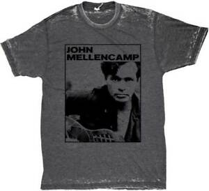 JOHN-MELLENCAMP-Photo-Burnout-T-SHIRT-S-M-L-XL-2XL-Brand-New-Official-Shirt
