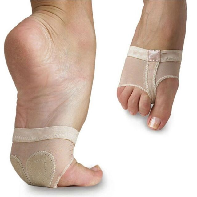 Belly Dance Ballet Toe Pad Practice Shoes Foot Thong Protection Socks Cares LJ