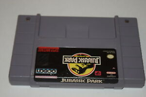 Jurassic-Park-Super-Nintendo-SNES-Video-Game-Cart