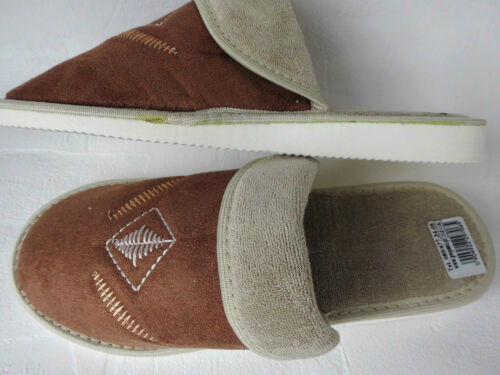 comode Pantofole taglia 37 cotone 29 e marrone e 5 calde leggere pantofole noce Zfwf4xB5